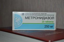Метронидазол при лечении грибка на ногах