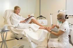 Процедура лечения грибка ногтей лазером