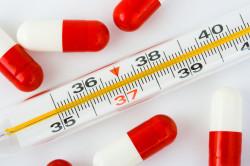 Температура - симптом кандидоза желудка
