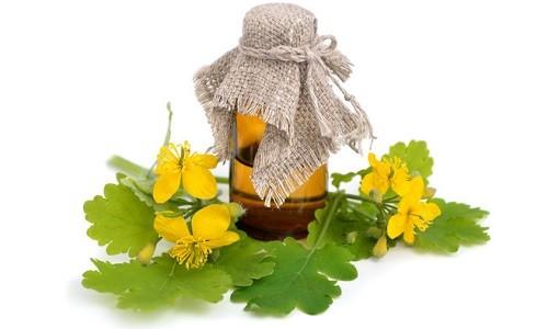 Масло чистотела от грибкового заболевания ногтей