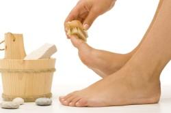 Лечение грибка стопы содой и мылом