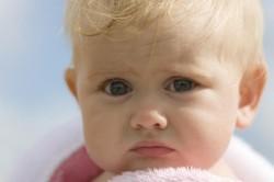 Болевые ощущения при грибке у ребенка