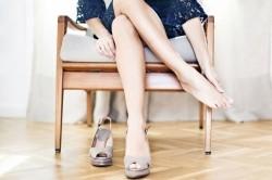 Болевые ощущения при ношении узкой обуви - начальная стадия недуга