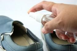 Дезинфекция обуви от грибка ногтей