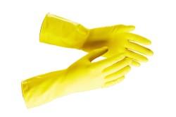 Использование перчаток при работе с жидкостями
