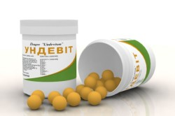 Ундевит - препарат от каплевидного псориаза