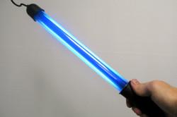 Люминесцентная лампа Вуда для постановки диагноза