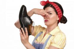 Неприятный запах обуви и ног