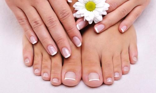 Грибок на ногах под ногтями