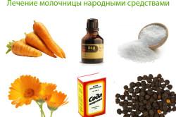 Народные средства от молочницы
