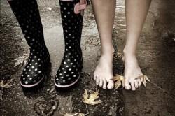 Вред влаги в обуви